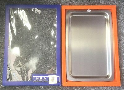 Vintage Hula Stainless Steel Tray, Boxed, New