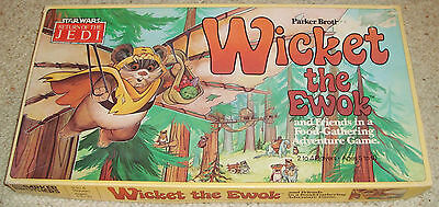 Vintage ROTJ Wicket the Ewok Adventure Board Game Return Of The Jedi Star Wars