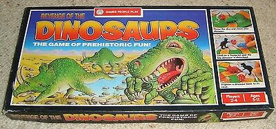 Vintage 1988 WADDINGTON'S REVENGE OF THE DINOSAURS board game
