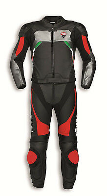 Ducati Corse C3  LEATHER SUIT MOTORCYCLE RACING LEATHER SUIT