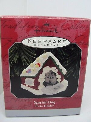 1998, Special Dog, Photo Holder,   Hallmark Keepsake Ornament
