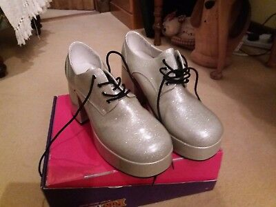 Men's fancy dress Platform shoes size 10