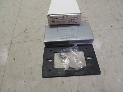 Crouse-Hinds Receptacle Cover FS Mount Horizontal WLGF-FS WLGFFS New