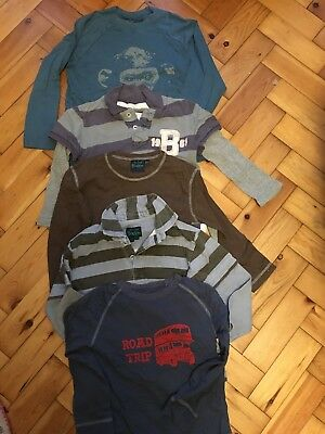 Mini Boden Top Bundle Age 5-6 Years X 5 Long-Sleeved Tops