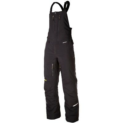 Klim Men's Rohn Bib Insulated Breathable Gore-Tex Pants - Black 3393-000-1_0-000