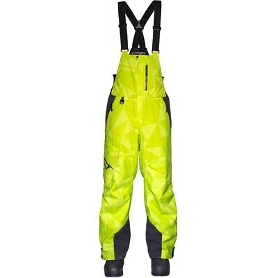 509 Men's Evolve Bib Uninsulated Mountain Pants - Black or Lime 509-OSB-EV__-__