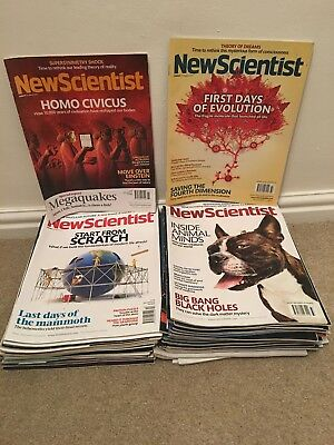 New Scientist Magazine Collection March 2011-Jan 2012 (43 issues)