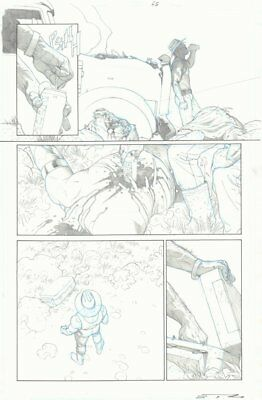 Marvel Legacy #1 p.45 1st Reappearance of Wolverine Since Death - by Esad Ribic