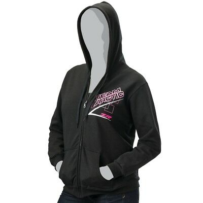 Arctic Cat Women's Team Arctic Race Hoodie Sweatshirt Pullover – Black - 5259...
