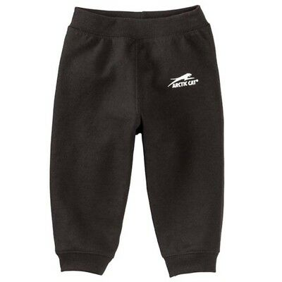 Arctic Cat Infant Toddler Aircat Fleece Lined Cotton Polyester Pants - Black