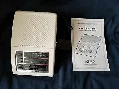 Sound Therapy Relaxation Marsona 1288A Programmable Sound Conditioner