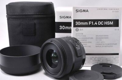 Sigma Standard Lens 30mm F1.4 DC HSM for Canon Digital SLR Camera from Japan New
