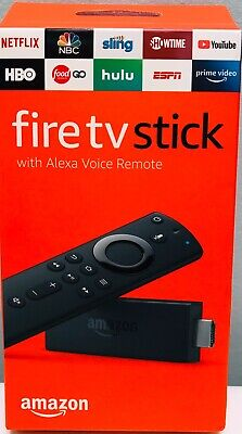 Amazon Fire Tv Stick  With Latest Alexa Voice Remote, Brand New