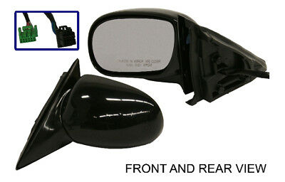 New Door Mirror Glass Replacement Driver Side For Buick Park Avenue 91-96