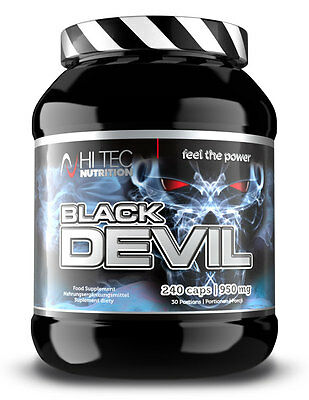 HiTec Nutrition - Black Devil - 240 Kaps. - DAA + Maca + Tribulus + Fenugreek