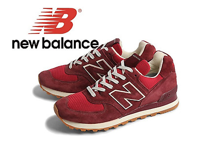 official photos 8a049 0113c NEW BALANCE CLASSIC 574 Red Mens Sneakers 1403 Size 10.5 D