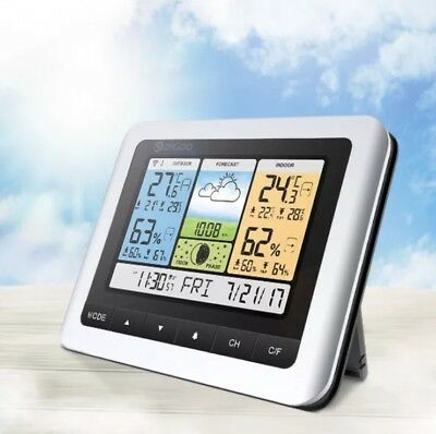 Digoo DG-TH8888Pro Color Wireless Weather Station Home Thermometer USB Outdoor