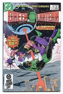 Green Lantern #186 - John Stewart Vs Eclipso - Newstand High Grade - Free Ship