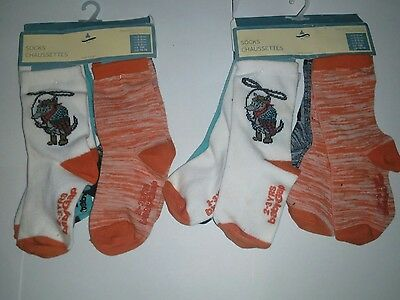 4 PAIRS BABYGAP TODDLER BOYS SOCKS CHAUSSETTES 2-3 years