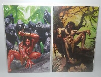 Lord of the Jungle virgin covers - #1 & #3 - Alex Ross and Lucio Parrillo - NM