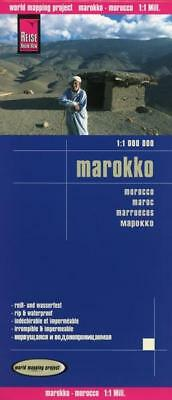 Reise Know-How Landkarte Marokko 1 : 1.000.000