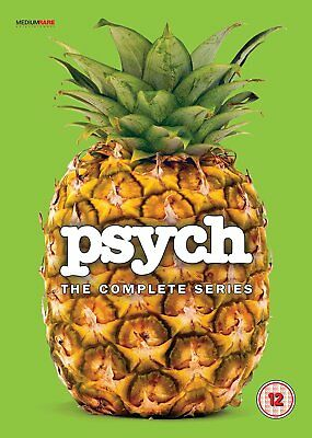 Psych: The Complete Series  with James Roday New (DVD  2017)