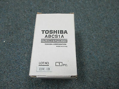 * NEW * Toshiba Strata CTX CIX 100 ABCS1A Battery Charger Sub Assembly Module