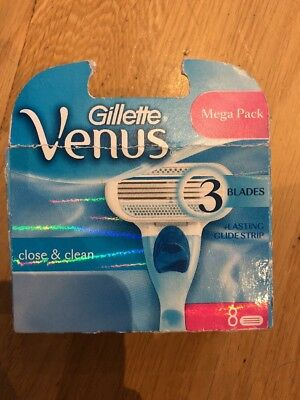 Gillette Venus blades 8 pack Bnib Trusted Uk Seller