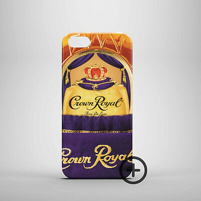 Lro0 Hot Canadian Crown Royal Pic 3D Case cover fits iPhone Apple 5 6 7 8 X Plus