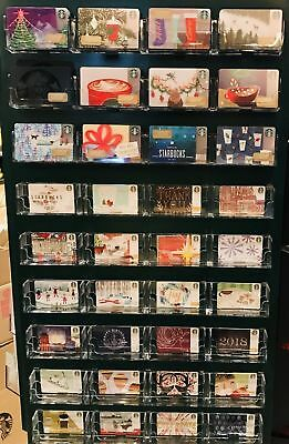 Starbucks 2017 Complete 56 Card Christmas Holiday Gift Set Lot - DIY - DIE CUT