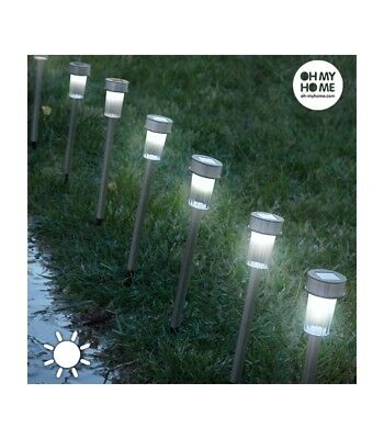 Lámparas Solares Torch Garden Oh My Home (pack de 7) - Oferta BLACK FRIDAY