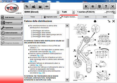 Diagnostic Software 2017 Wow Wurth 5.00.12 + Fw 2202 Multilanguage Banca Dati