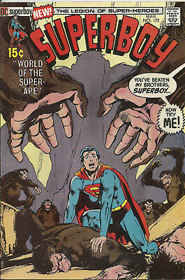 Superboy #172 (DC Comics, Mar 1971) 9.0 Very Fine/Near Mint