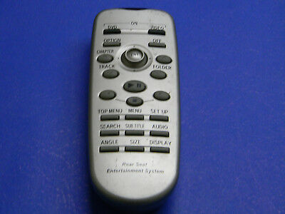 Toyota Sienna REAR DVD Entertainment Remote Control REAR SEAT OEM 86170-45020