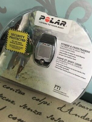 Polar Ft1 Heart Rate Monitor & Sports Watch Training Sporting Goods Fitness Str