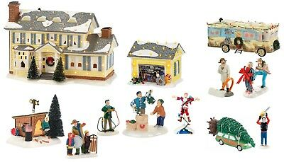 National Lampoons Griswold Department 56 Snow Village Christmas Vacation Set/12