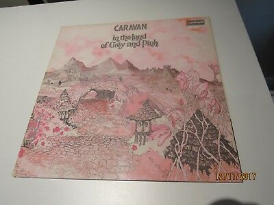 Caravan In The Land Of Grey And Pink Caravan Vinyl Deram Sdl R1