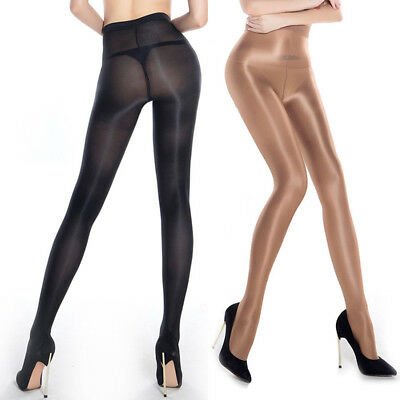 70D Durable Super Elastic Stockings Women Shiny Magical Tights Shaping Pantyhose