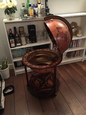 drinks trolley globe