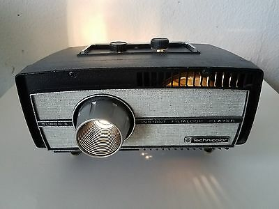 Technicolor Super 8 520 Instant Filmloop Player Movie Projector