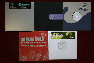 Job lot collection of 50 x House/Dance records