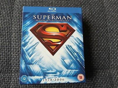 Superman - Die Spielfilm Collection BLU-RAY (1978-2006) 8 Blu-ray´s Hartbox