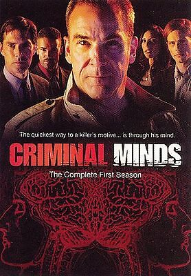 Criminal Minds - The Complete First Season (DVD, 6-Disc Set) Brand New in Wrap