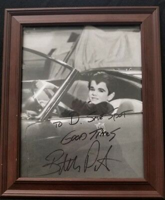 Butch Patrick as Eddie Munster autographed photo signed the Munsters (G6)