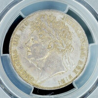 1/2 Crown 1821 PCGS MS62 Great Britain S-3807 Lightly Garnished George Scarce
