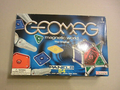 Geomag magnetic world Das Original - 84 Teile