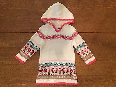 Girls BABY GAP Sz 3T Pink Fair Isle Heart Sweater Knit Dress $4.99 ...