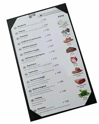 "10 Pcs of Menu Covers 8.5"" X 14"" InchesSingle ViewSold By BoxWith Clear PVC s..."