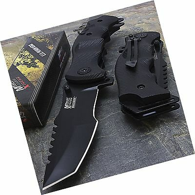"""9"""" M-Tech G10 Tracker Spring Assisted Open Folding Pocket Outdor Knife Tactic..."""