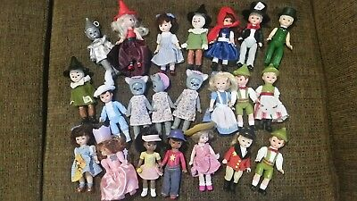 Mixed Lot of 22 Madame Alexander McDonald's Happy Meal Dolls some Wizard of Oz